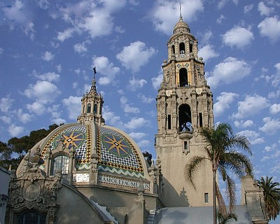 Exterior image of the San Diego Museum of Man.