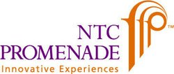 Graphical logo for NTC Promenade.