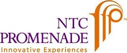 Graphic logo for NTC Promenade.