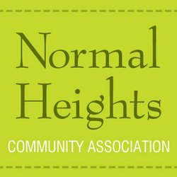 Graphic logo for the Normal Heights Community Center.