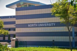 Exterior image of North University Library.