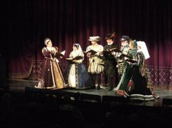 Image from a previous Celebrity Sonnets in 2011. Courtesy to the San Diego Shakespeare Society.