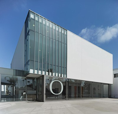 Exterior photo of the Oceanside Museum of Art. Courtesy of OMA