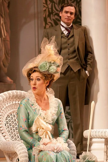 Charlotte Parry as Eliza Doolittle and Robert Sean Leonar...