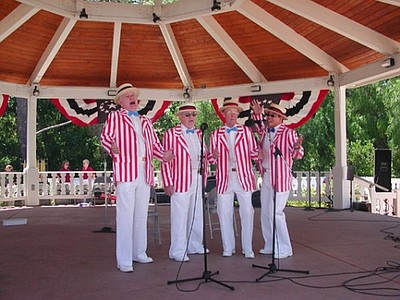 Promotional photo of Old Fashioned Fourth of July at Lake Poway.