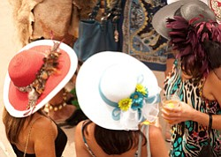 Promotional image of Opening Day at the Del Mar Racetrack.