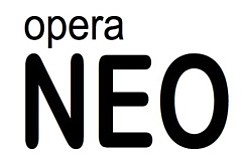 Promotional image of Opera Neo.