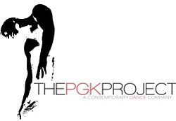 Graphic logo for PGK Dance Project, a contemporary dance ...