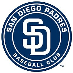 Graphic logo for the San Diego Padres Baseball team