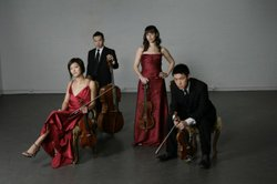 Image of the Parker Quartet who will be performing at the Athenaeum Music & Arts Library on Tuesday, February 12, 2013 at 7:30 p.m.