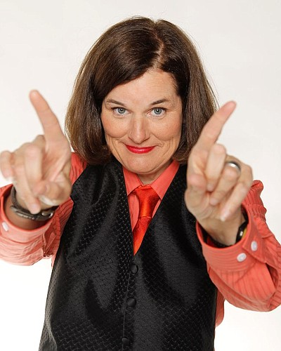 Promotional photo of Paula Poundstone.