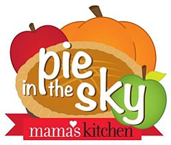 Graphic logo for Pie in the Sky by Mama's Kitchen. Courte...