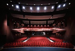 Interior image of the Poway Center for the Performing Arts. Courtesy image of Poway Center for the Performing Arts.