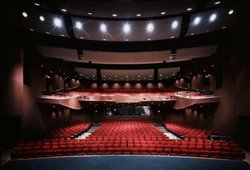 Interior image of the Poway Center for the Performing Arts.