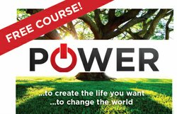 Promotional graphic for the free Power Of Kabbalah 1 course. Courtesy of The Kabbalah Centre