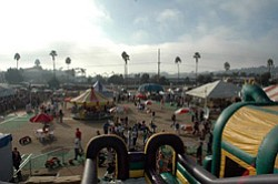 Promotional photo of the Pumpkin Station in Del Mar.