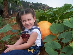 Promotional photo of a young guest enjoying Pumpkin Station Rancho Bernardo. Courtesy of Pumpkin Station