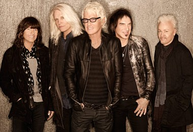 Image of REO Speedwagon, who will be performing at the 20...