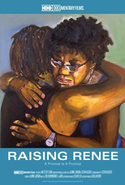 "Movie poster of ""Raising Renee"" playing at San Diego Museum of Art on May 3rd."