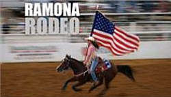 Promotional image for the Ramona Rodeo.