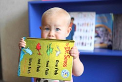 Promotional image of Reading Day at the New Children's Museum on March 2nd. Courtesy image of New Children's Museum.