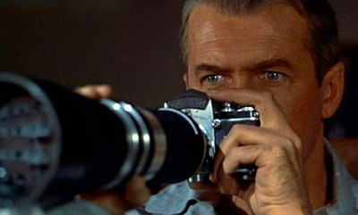 Image from Alfred Hitchcock's film, Rear Window.