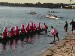 Image from the 11th Annual Row for the Cure. Courtesy of Susan G. Komen for the Cure, San Diego.