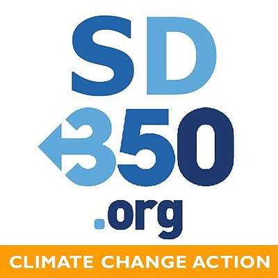 Promotional graphic for San Diego 350.