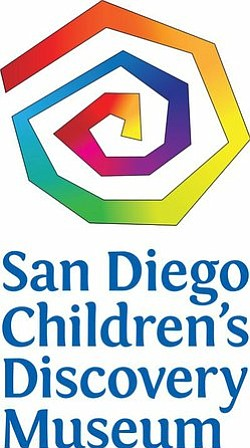 Graphic logo for the San Diego Children's Discovery Museu...