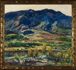 "Charles Reiffel, ""In the San Felipe Valley."" Oil on canvas, 1927. Museum purchase, 1927.41. Courtesy of San Diego Museum of Art."