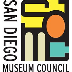 Graphic logo for the San Diego Museum Council.