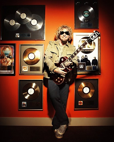 Image of Sammy Hagar, who will be performing with his ban...