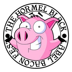 Promotional graphic for  Hormel Black Label Bacon Fest on August 31, 2013. Courtesy image of San Diego Bacon Festival.