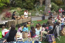 Promotional image of Thursday Family Fun Nights at San Diego Botanic Garden.