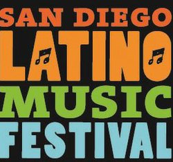 Promotional graphic for the 17th Annual San Diego Latino Music Festival on June 29, 2013.