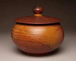 Promotional image of pottery, for San Diego Potters' Guil...
