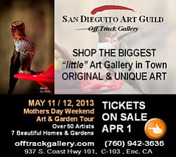 Promotional image for the San Dieguito Art Guild Mother's...