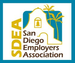 Graphic logo for the San Diego Employer's Association.