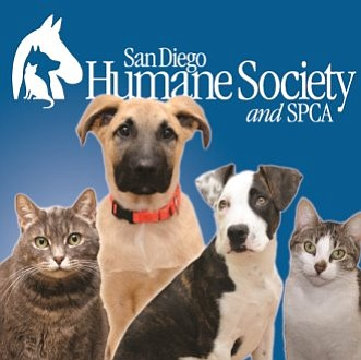 Graphic logo for the San Diego Humane Society.