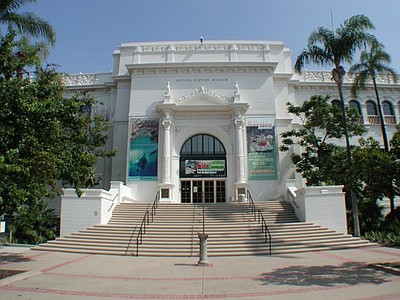 Exterior image of the San Diego Natural History Museum.