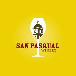 Graphic logo for the San Pasquale Winery.