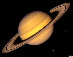 Promotional image of the planet Saturn. Courtesy image from NASA.