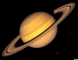 Promotional image of the planet Saturn. Courtesy image fr...