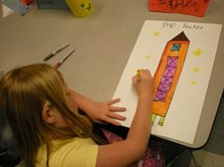 Image of the Saturday Science Club for Girls, courtesy of the Ruben H. Fleet Science Center.