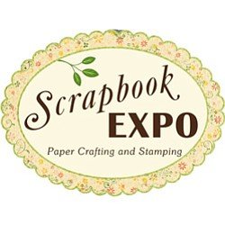 Graphic logo for the the San Diego Scrapbook Expo June 28-29, 2013.