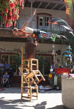 Promotional image of Seaport Village Spring Busker Festival on March 23 & 24, 2013.