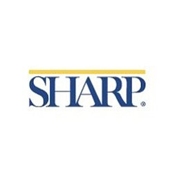 Graphic logo for Sharp HealthCare.