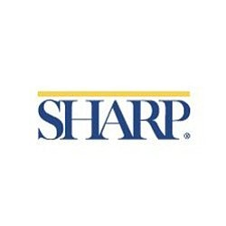 Graphic logo for Sharp HealthCare. Courtesy of Sharp Heal...
