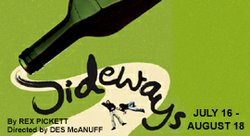 "Promotional image for the La Jolla Playhouse's presentation of ""Sideways""."