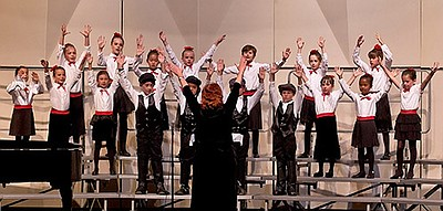 Image of the Center Children's Chorale, who will be perfo...